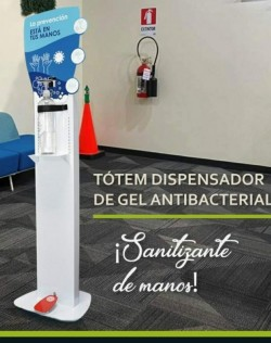 DISPENSADOR DE GEL SIN CONTACTO