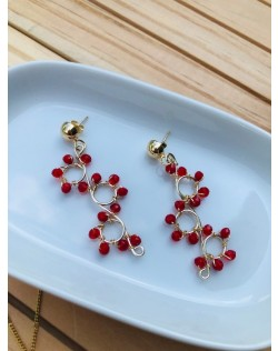 Aretes Espiral Red