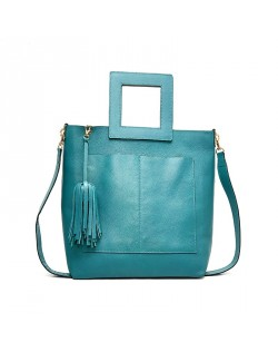Divine Turquoise Hand & Shoulder bag