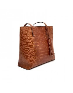 Raffaella Genuine Leather Tote bag