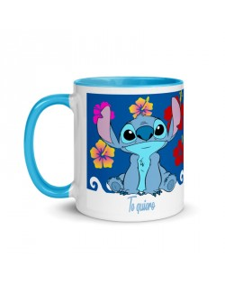 Taza de Stitch color interior